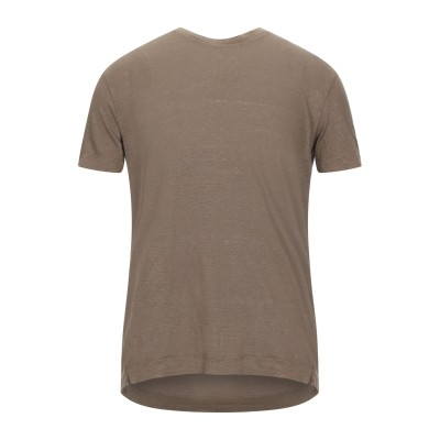 ボリオリ BOGLIOLI T シャツ キャメル S リネン 100% T シャツ