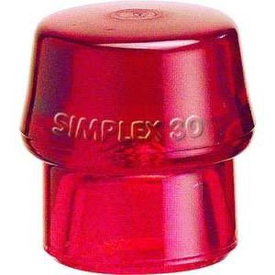 HALDER シンプレックス用インサート プラスティック(赤) 頭径30mm(品番:3206.030)『4817907』