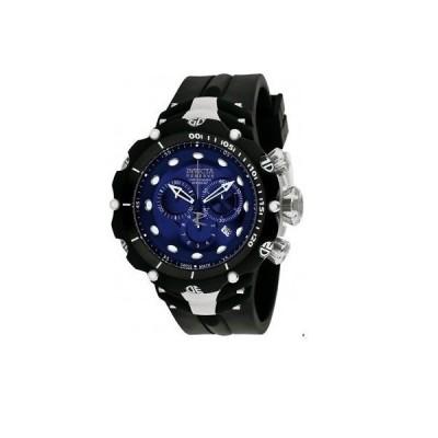 メンズ 腕時計 インヴィクタ New Mens Invicta 1519 Reserve Swiss Quartz 52mm Blue Dial HUGE Watch