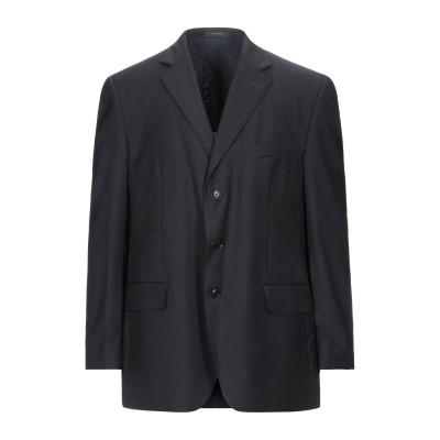 ボリオリ BOGLIOLI テーラードジャケット ダークブルー 56 バージンウール 100% テーラードジャケット