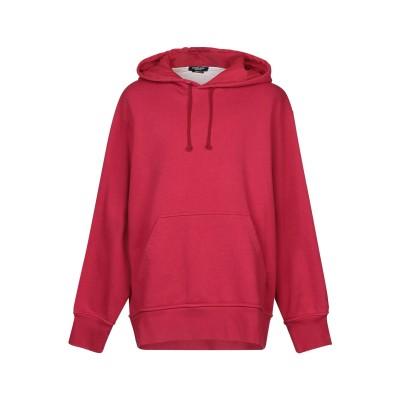 CALVIN KLEIN 205W39NYC スウェットシャツ ガーネット XS コットン 100% スウェットシャツ
