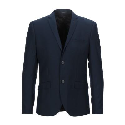 SUIT テーラードジャケット ダークブルー 48 ポリエステル 80% / レーヨン 20% テーラードジャケット