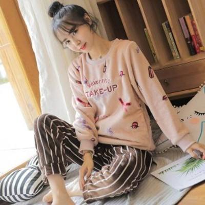 パジャマ ふわもこパジャマ 冬 著る毛布 上下セット パジャマセット メンズ 長袖 カップルパジャマ 女の子 レディース sy7