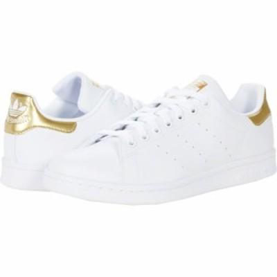 アディダス adidas Originals レディース スニーカー シューズ・靴 Stan Smith Footwear White/Footwear White/Gold Metallic