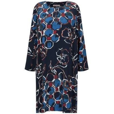 MIKI THUMB ミニワンピース&ドレス ダークブルー XS レーヨン 100% ミニワンピース&ドレス
