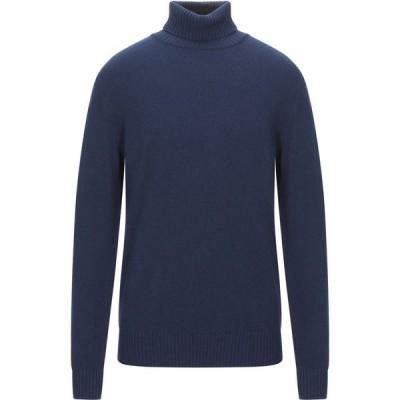 フィリッポ デ ローレンティス FILIPPO DE LAURENTIIS メンズ ニット・セーター トップス Turtleneck Dark blue