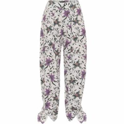 イザベル マラン Isabel Marant レディース ボトムス・パンツ gaviao floral cotton pants Ecru
