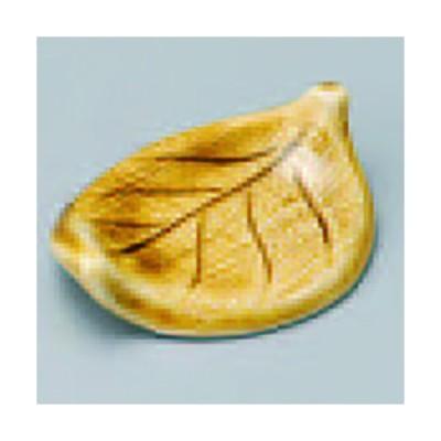 黄瀬戸木の葉箸置 381-42-084