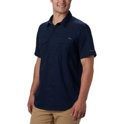コロンビア メンズ シャツ トップス Silver Ridge Lite Short-Sleeve Shirt Collegiate Navy