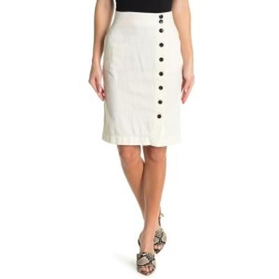 ボールドウィンデニム レディース スカート ボトムス Wednesday Button-Front Skirt OPTI