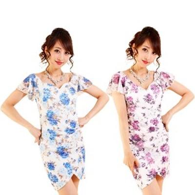 キャバ ドレス キャバドレス ミニドレス フリーサイズ ワンピース 3684 ナイトドレス パーティードレス キャバミニドレス レディース