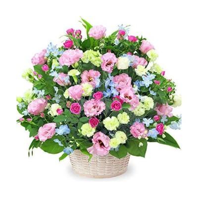 【お祝い】ピンクトルコキキョウの豪華なアレンジメント yc00-512196 花キューピット 誕生日 退職 歓送迎 結婚 ?