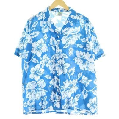 Oceanaire ハワイアンアロハシャツ USA製 メンズL /eaa062777