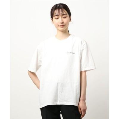 tシャツ Tシャツ 【SOMETHING】【WEB限定】バックプリントBIG Tシャツ