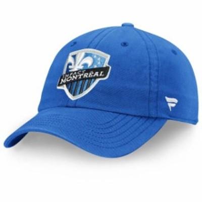 Fanatics Branded ファナティクス ブランド スポーツ用品  Fanatics Branded Montreal Impact Royal Fundamental Adjustable Hat