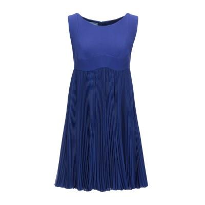 プラダ PRADA ミニワンピース&ドレス ブルー 44 レーヨン 100% / ポリエステル ミニワンピース&ドレス