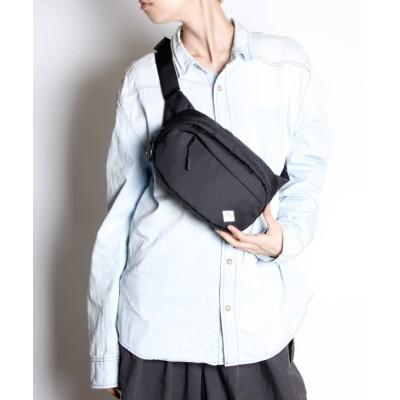 【メゾンムー】 CORDURA Pallet series ウエストポーチ K900006 ユニセックス ブラック FREE MAISON mou