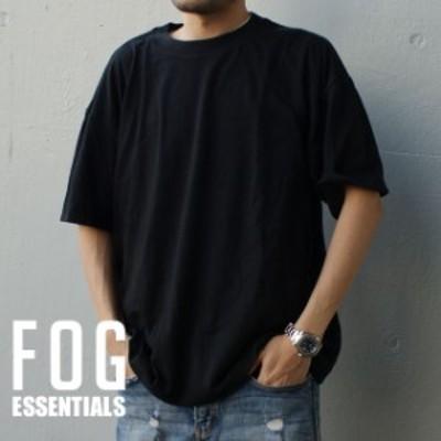 新品 エフオージー エッセンシャルズ FOG ESSENTIALS LOGO TEE Tシャツ 単品販売 BLACK ブラック 黒 フィアオブゴッド FEAR OF GOD 半袖T