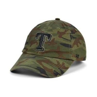 47ブランド メンズ 帽子 アクセサリー Texas Rangers Regiment CLEAN UP Cap Gray