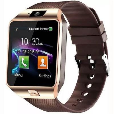カメラ付 Bluetooth のスマートな腕時計 メンズ スポーツ スマートな腕時計 DZ09 Android の電話 呼び出し レロジオ