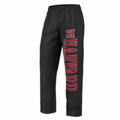 Fanatics Branded ファナティクス ブランド スポーツ用品  Fanatics Branded Harvard Crimson Black Sideblocker Fleece Pants