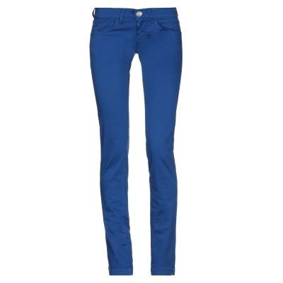 フォルナリーナ FORNARINA パンツ ブルー 24 コットン 97% / ポリウレタン 3% パンツ
