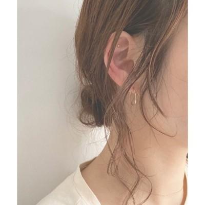 ピアス K10 17mm Hoop Earring
