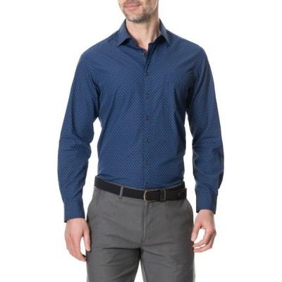 ロッドアンドガン メンズ シャツ トップス Aylesbury Long Sleeve Shirt MARINE