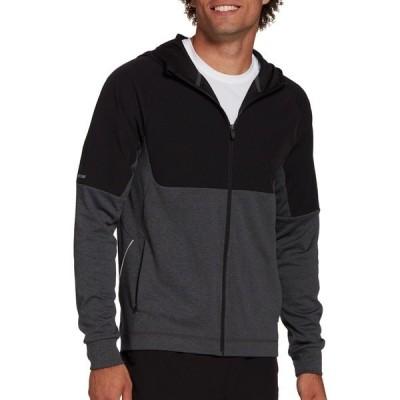 DSG ジャケット&ブルゾン アウター メンズ DSG Men's Hooded Running Jacket PureBlackDoubleDye