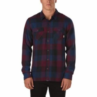 Vans バンズ ファッション アウター Vans Off The Wall Mens Box Long Sleeve Plaid Flannel Shirt
