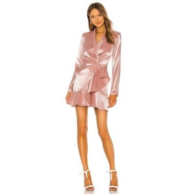 エヌビーディー NBD レディース ワンピース ミニ丈 ワンピース・ドレス Maxwell Mini Dress Shiny Light Pink