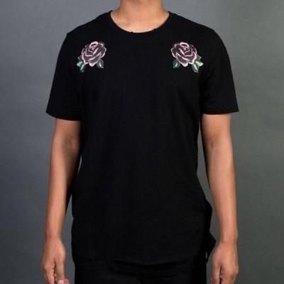 リフテッド アンカーズ Lifted Anchors メンズ Tシャツ トップス Wish Tee black/rose