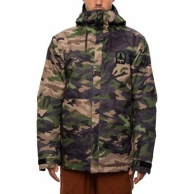 シックス エイト シックス 686 メンズ スキー・スノーボード ジャケット アウター foundation insulated snowboard jacket Surplus Utili