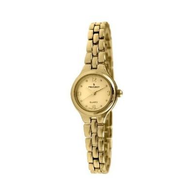 プジョーWomen 's Small Petiteリンクブレスレット腕時計 ゴールド