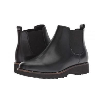 Blondo ブロンド レディース 女性用 シューズ 靴 ブーツ チェルシーブーツ アンクル Roman Waterproof - Black Leather
