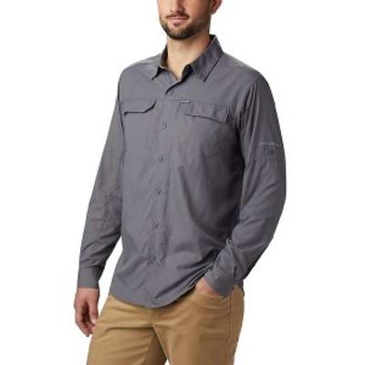 コロンビア メンズ シャツ トップス Columbia Men's Silver Ridge2.0 LS Shirt City Grey