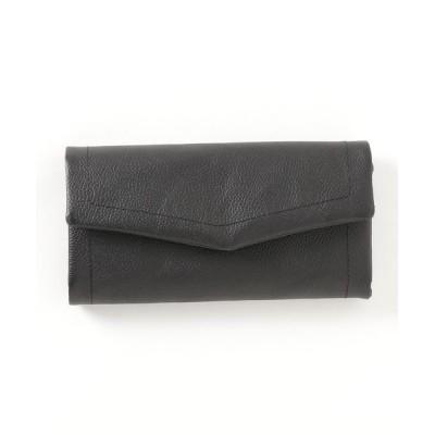 KAZZU / ベーシックフラップレザー長財布 WOMEN 財布/小物 > 財布