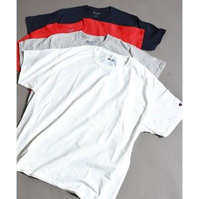 tシャツ Tシャツ 【Champion】ヘビーコットン半袖TEE
