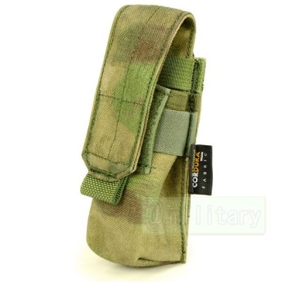 FLYYE MOLLE Single 9mm Mag Pouch Ver.FE A-TACS FG 迷彩