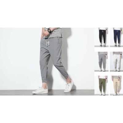 テーパードパンツ メンズ 男性  カジュアル シンプル パンツ ズボン ボトムス 全6色 全3サイズ