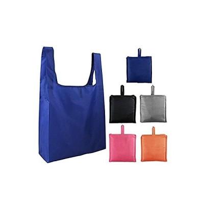 エコバッグ 折りたたみ式 ポータブル ンパクトショッピングバッグ 再利用 大容量 防水 収納 おおきめポケット付き ショッピング 環境を守ること 洗え