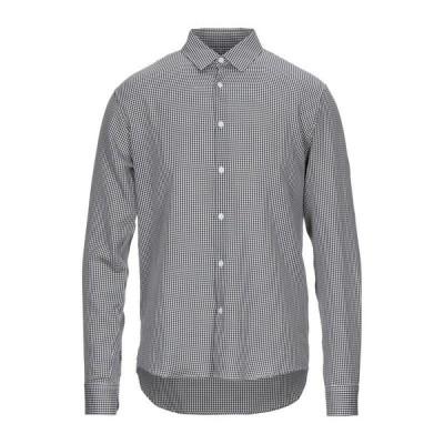 SANDRO チェック柄シャツ ファッション  メンズファッション  トップス  シャツ、カジュアルシャツ  長袖 ダークブルー