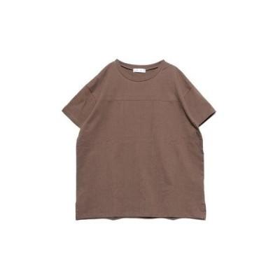 ジーラ GeeRA 綿100%フットボールTシャツ (モカ)