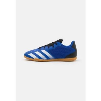 アディダス メンズ スポーツ用品 PREDATOR FREAK .4 IN SALA - Indoor football boots - royal blue/footwear white/core black