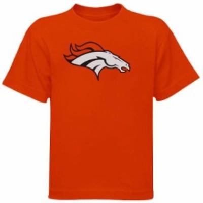 Outerstuff アウタースタッフ スポーツ用品  Denver Broncos Preschool Team Logo T-Shirt - Orange