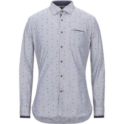 アレッサンドロラムーラ ALESSANDRO LAMURA メンズ シャツ トップス Patterned Shirt Grey