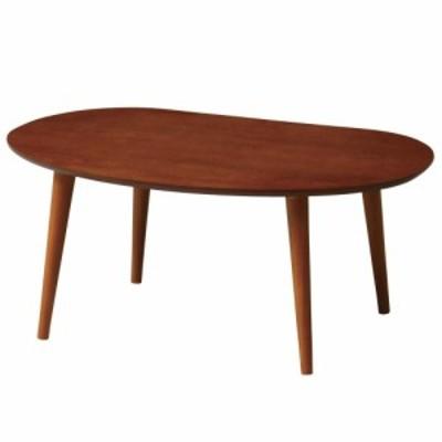 ティーナ ローテーブル ブラウン TINA-LT750 BR