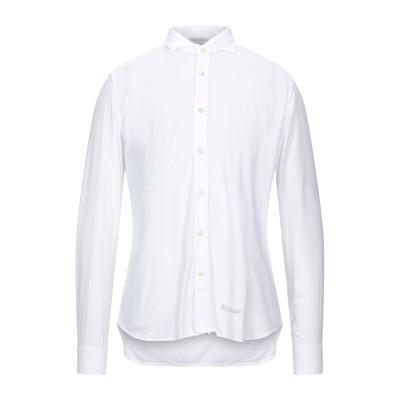 TINTORIA MATTEI 954 シャツ ホワイト 40 レーヨン 50% / コットン 50% シャツ