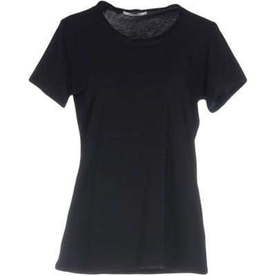 REBEL QUEEN by LIU •JO T シャツ ブラック 44 コットン 90% / ポリウレタン 10% / ナイロン T シャツ