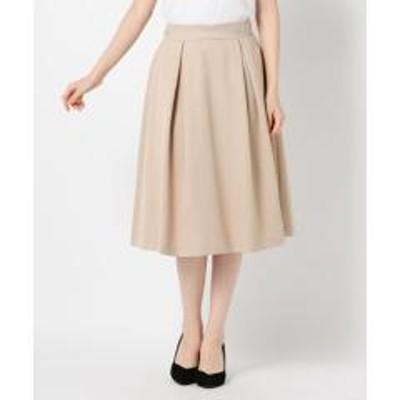 MEW'S REFINED CLOTHES配色ベルトフレアタックスカート【お取り寄せ商品】